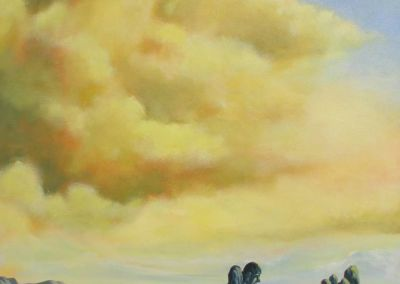 deepak dali yellow cloud