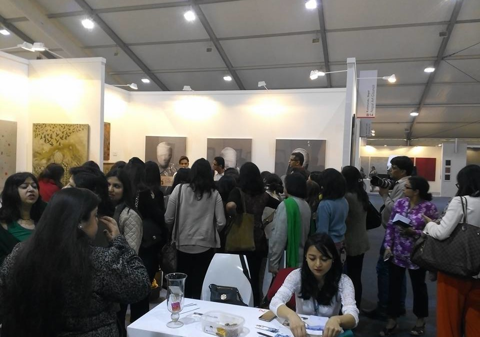 BIG NEWS: First time participation of Nepali artists at IndiaArtFair 2016