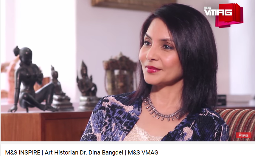 Dr. Dina Bangdel about Nepali art (video!)