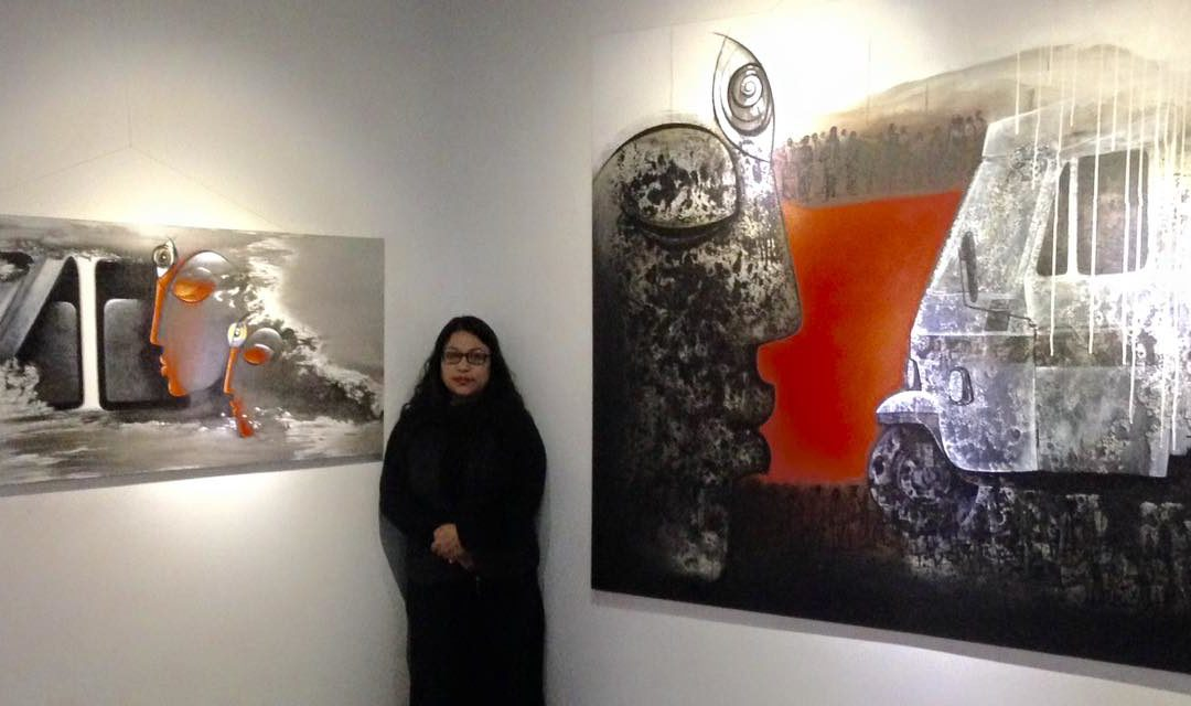 Erina Tamrakar Single Exhibit at Park Gallery