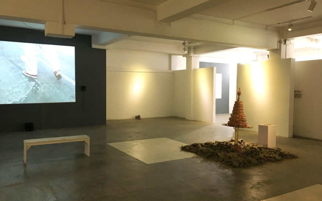 KT2017: the exhibit at Nepal Art Council
