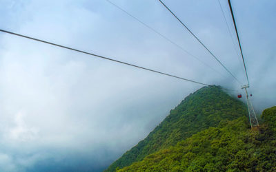 Cool place: Chandragiri Hills Cable Car