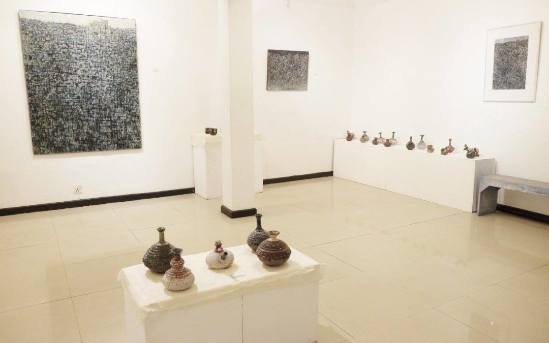 Ceramic exhibit at Siddhartha Gallery: Gopal Kalapremi